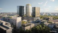 Trinity Park Linz (TPL) und Trinity Towers am ehemaligen Nestlé Areal in Linz